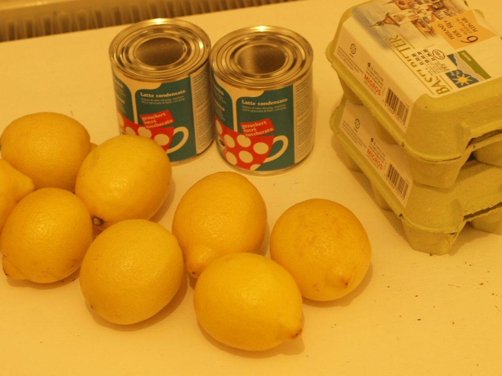 Lemon Meringue Pie with Emma's Granola step by step