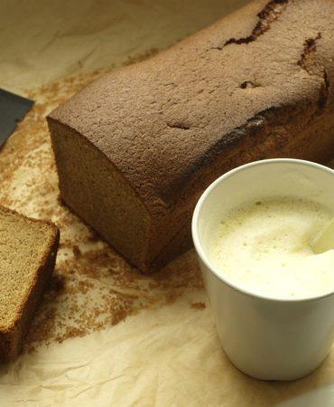 Roasted Corn Sponge Cake Gluten Free