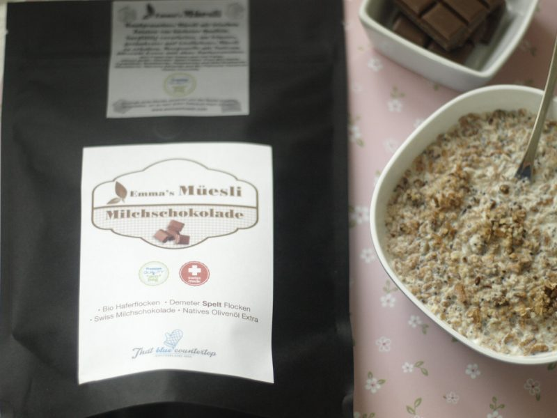 Milk chocolate Müesli